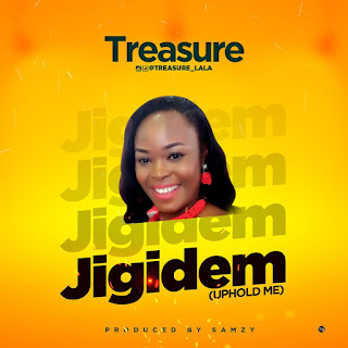 "Gospel Artiste, Treasure is set to drop a new single titled ""Jigidem"", meaning ""Hold Me"""
