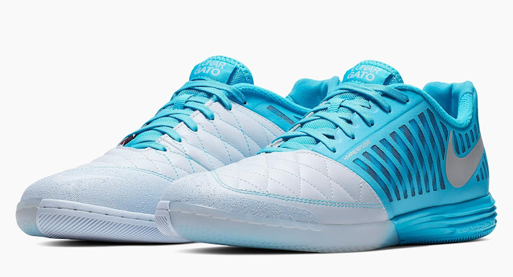 big sale 26816 3bb63 Comeback After Four Years  Turquoise Nike Lunar Gato 2019 Boots ...