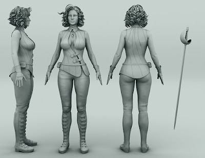 Magna Flux for Genesis 3 Female