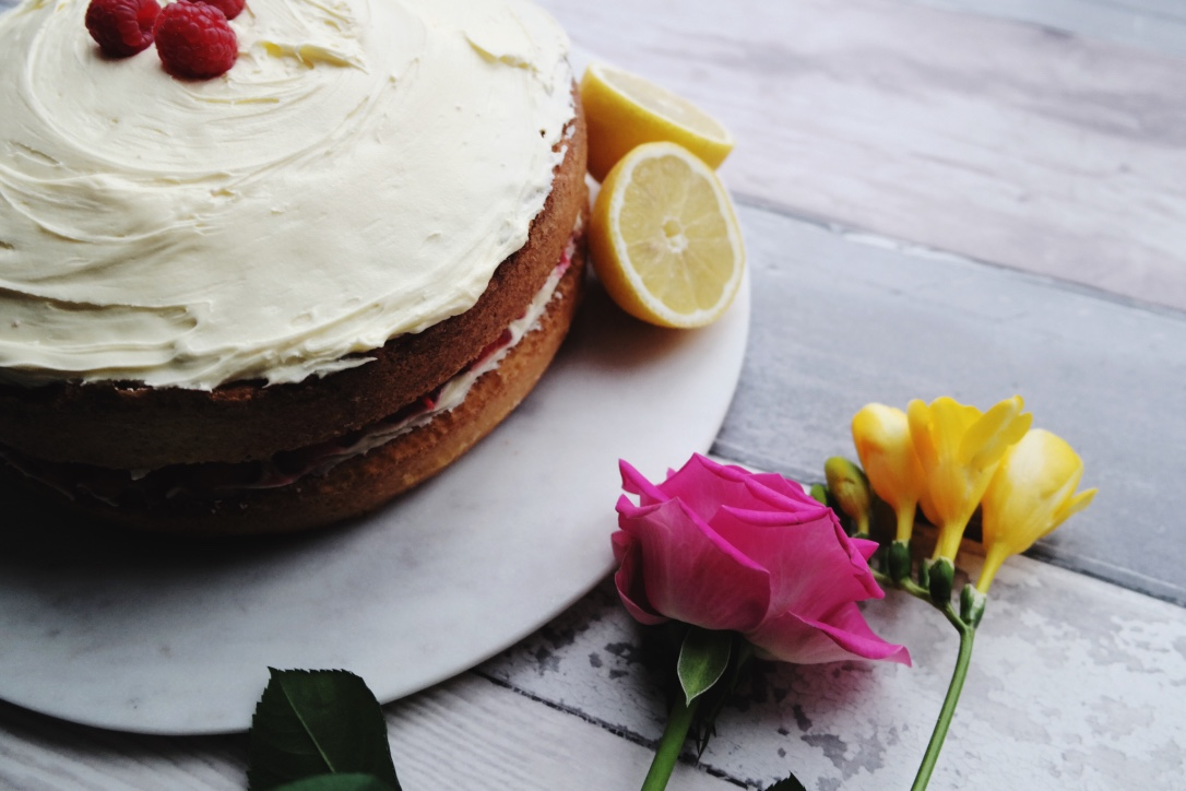 Lemon and Raspberry Cake Recipe