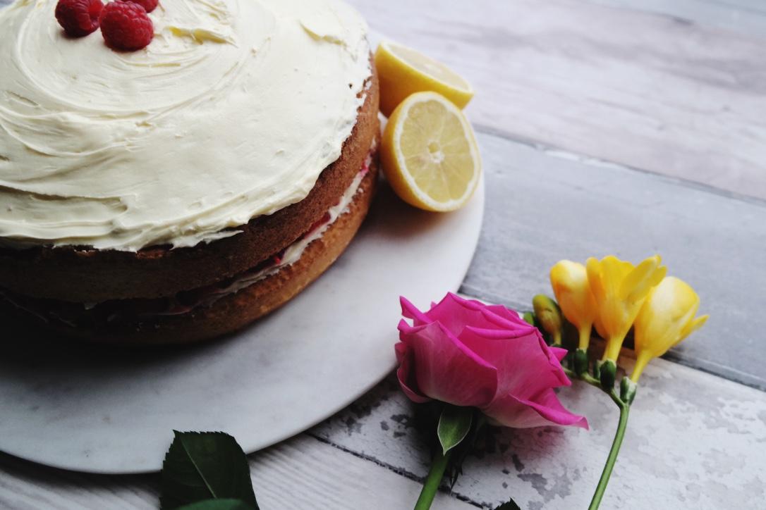Lemon and Raspberry Cake Recipe