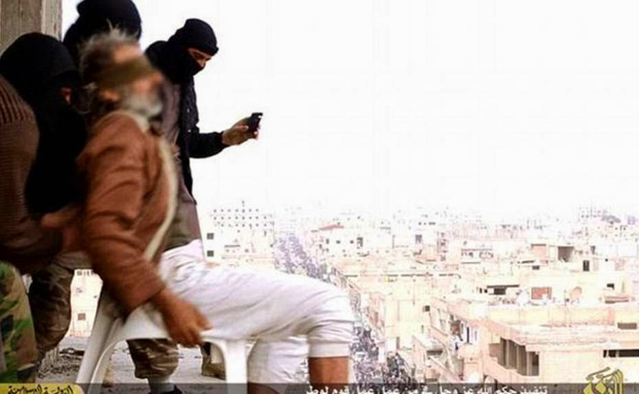 Man Survives 7-storey Building Fall Given by ISIS For Being Gay Then Stoned to his Death