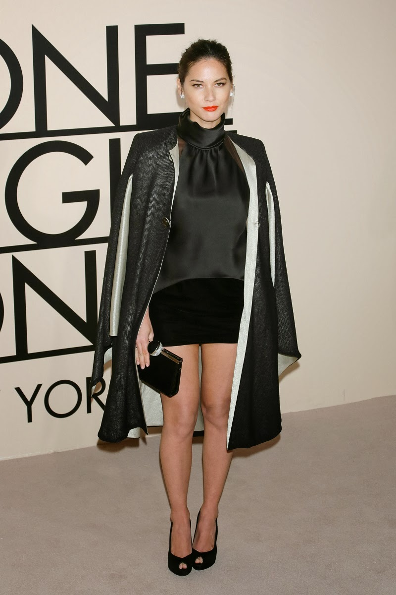 celebrity fashion at the giorgio armani one night only nyc