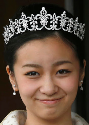 Diamond Tiara Princess Kako Akishino Japan