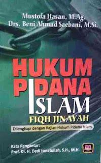 HUKUM PIDANA ISLAM FIQH JINAYAH