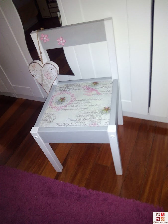 reciclar silla infantil
