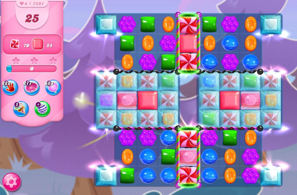 Candy Crush Saga level 7591