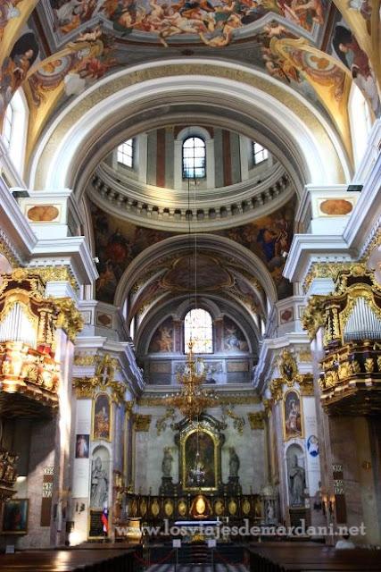 Interior de la catedral del Ljubljana