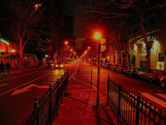 Foto.Ciudad de noche