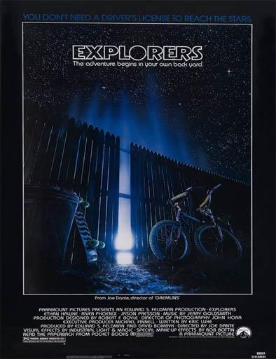 Ver Exploradores (Explorers) (1985) Online