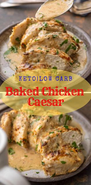 Baked Chicken Caesar Dressing