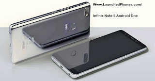 This telephone runs on the Android One platform Infinix Note v Android One telephone launched