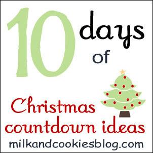 Christmas Countdown Ideas: Day 8