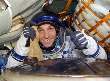 Mark Shuttleworth na estação espacial internacional