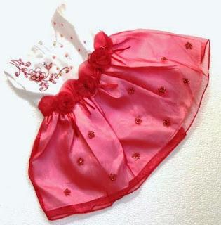 Model Baju Dress bayi Usia 7 Bulan