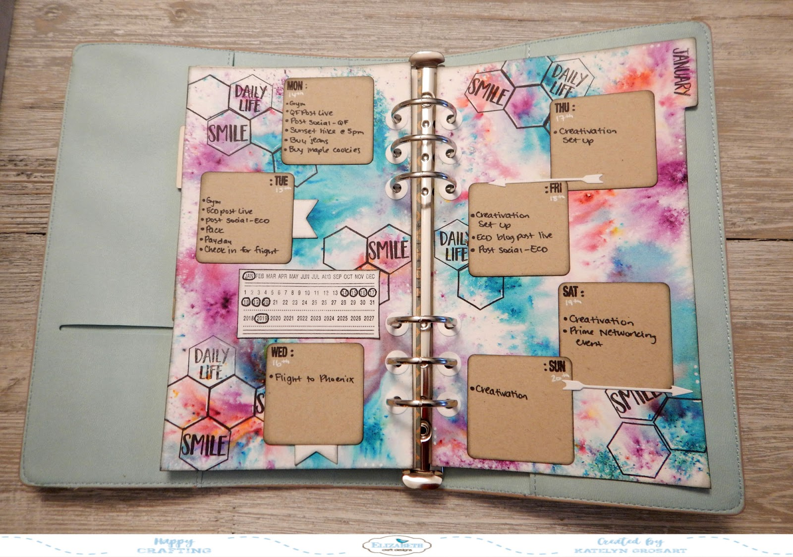 A Creative Journey January Planner Post 2