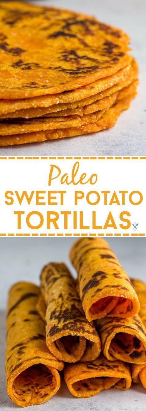 Paleo Sweet Potato Tortillas