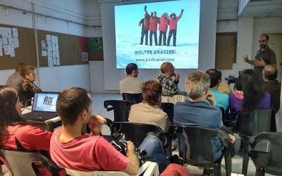 Presentació de VIAJE AL BLANCO al Centre Excursionista de Rubí