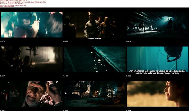 Capturas Underground 2011 DVDRip Subtitulos Español Latino