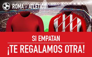 sportium promocion 25 euros champions Roma vs Atlético 12 septiembre