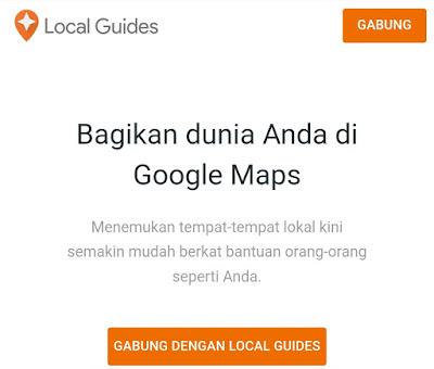 Cara bergabung dengan Local Guide Google Maps