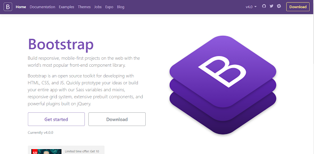 Djatikusuma Tech - Bootstrap 4 Final Rilis
