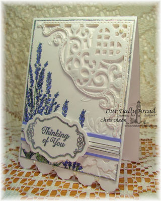 Stamps - Our Daily Bread Designs Joy in a Jar, Lavender, Ornate Borders Sentiments, ODBD Custom Antique Labels and Border Dies, ODBD Custom Decorative Corners Die