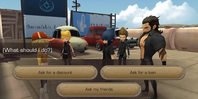 Final Fantasy XV Pocket Edition - Choice