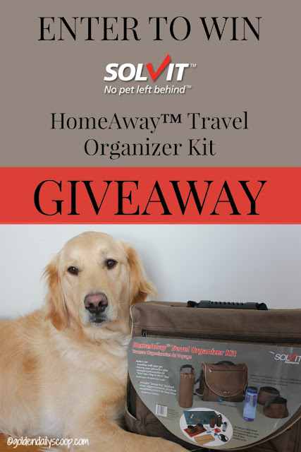 Solvit HomeAway Travel Organizer Kit Giveaway GoldenDailyScoop.com