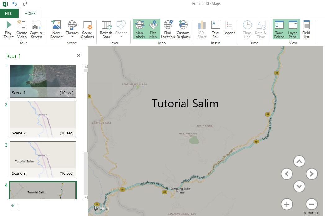 Cara memasukkan Google Maps Ke Microsoft Excel