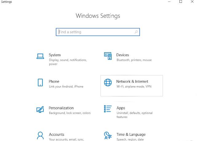 Cara hapus Jaringan WiFi Yang Tersimpan di Windows 10