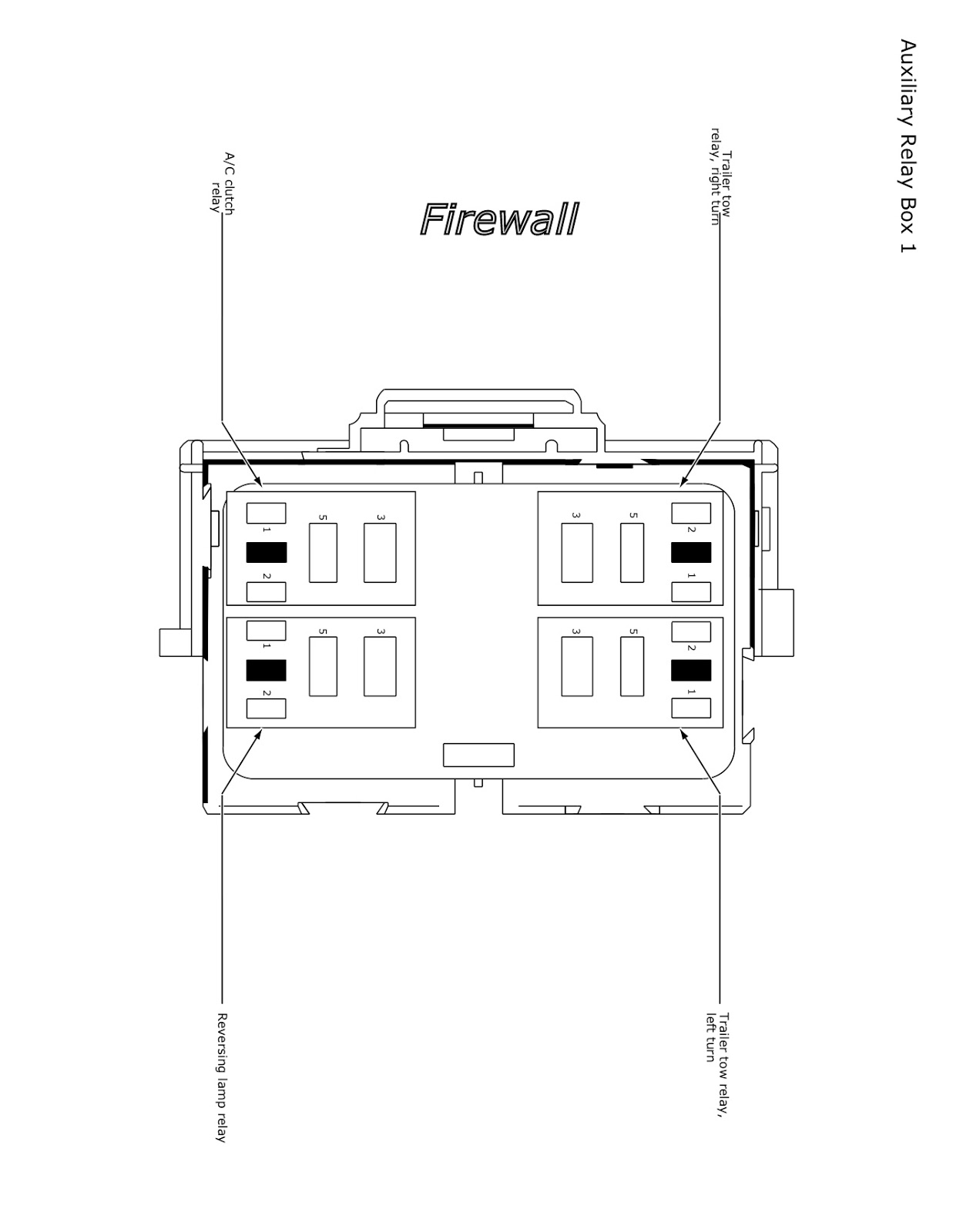 The Lazy Daze Companion Velvac Mirror Wiring Diagram Part Numbers If 26 Is Ok Check Two Of Relays In Box Mounted On Firewall Directly Behind Fuse Pictured Above