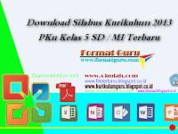 Download Silabus Kurikulum 2013 PKn Kelas 5 SD / MI Terbaru