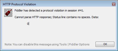 Daniel Ballinger's FishOfPrey com: HTTP/1 1 WebRequest with