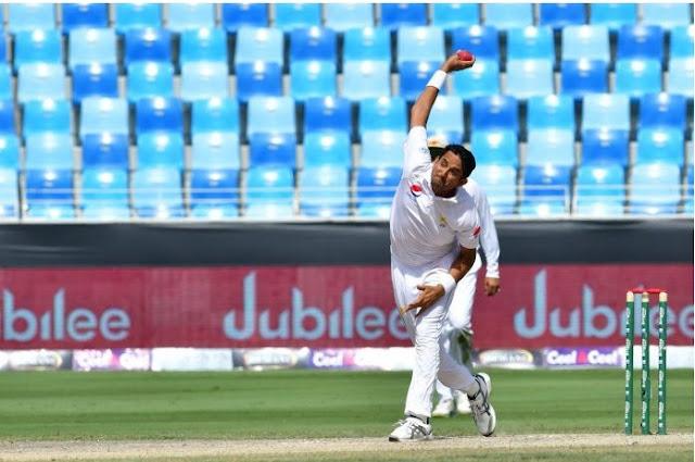 Abbas' fifer destroys Australia for 145 in .second Test