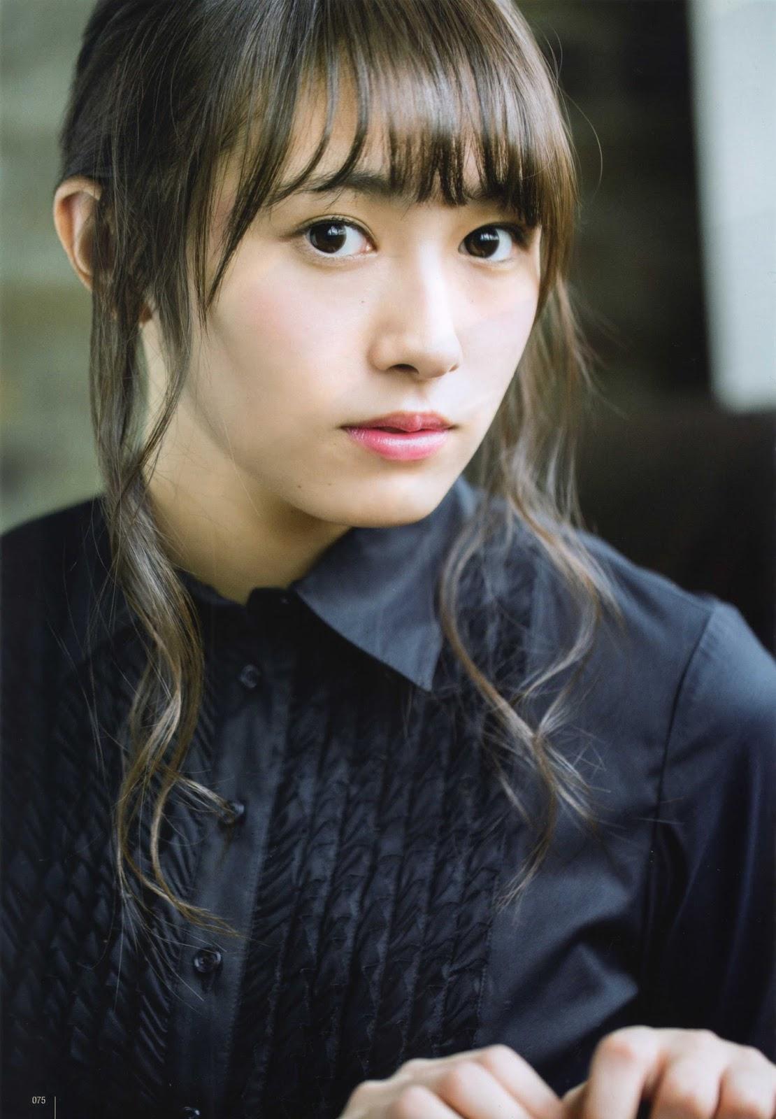 Watanabe Rika 渡辺梨加 Keyakizaka46, UTB Magazine 2016.03 Gravure