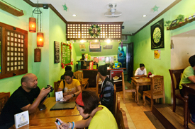 Lampong's Restaurant in Vigan City
