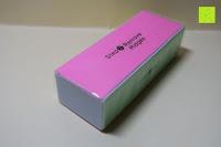 Verpackung: Nagelblock, Profi Polierblock, 4 Feil- und Polierflächen, Maniküre für gepflegte und schöne Nägel