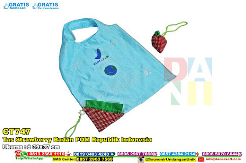 Tas Strawberry Badan POM Republik Indonesia