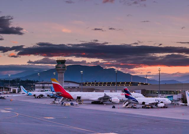 Aeropuerto de Quito Routes Americas