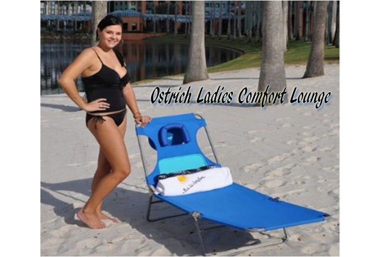 Ostrich Ladies Comfort Lounge,Ostrich Beach Chair, Ostrich Chaise, Ostrich  Folding Chaise Chairs, Beach chairs, Folding Beach Chairs, Ostrich Beach Folding Chair, Patio Furniture, Outdoor Furniture,