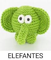 PATRONES ELEFANTES AMIGURUMI