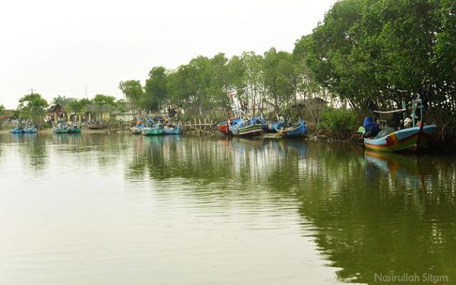 Sungai Dasun, Lasem ini dulunya sungai buatan.