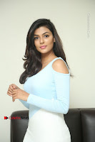 Anisha Ambrose Latest Pos Skirt at Fashion Designer Son of Ladies Tailor Movie Interview .COM 0634.JPG