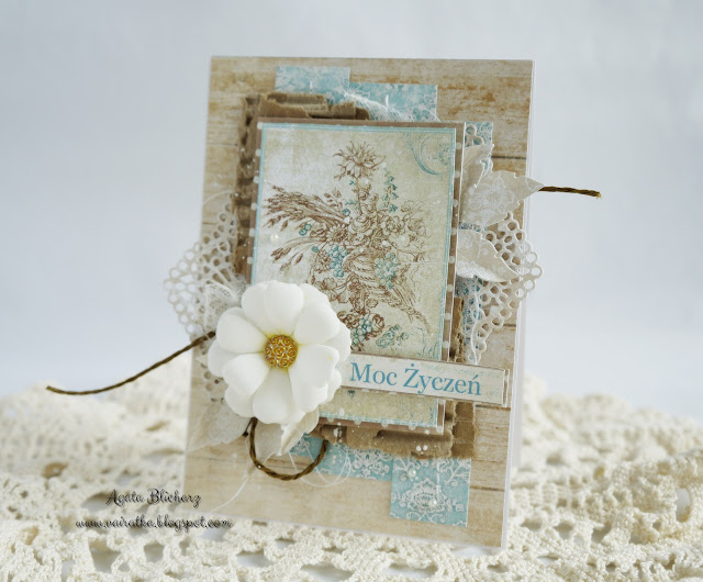 Kartka urodzinowa/DT CraftPassion