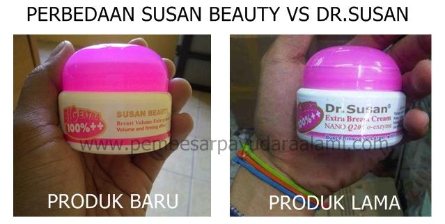 Perbedaan susan beauty bpom dengan cream dr.susan 2018