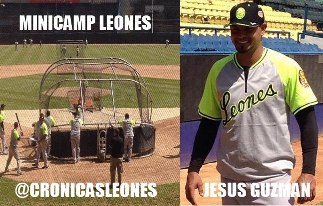 Leones Arranco Pretemporada con Minicamp - Hablo Manager Mike Rojas ...