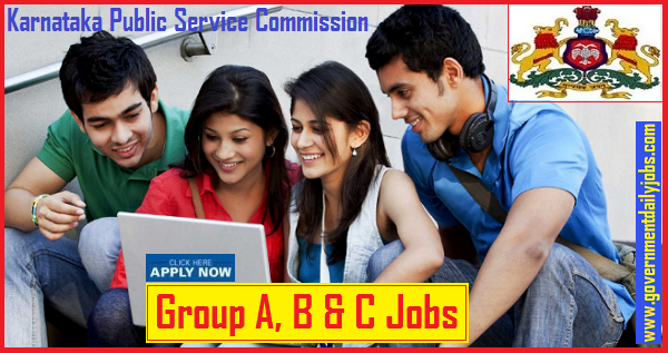 KPSC Recruitment 2019 Online Group A, B, C Technical 475 Vacancies