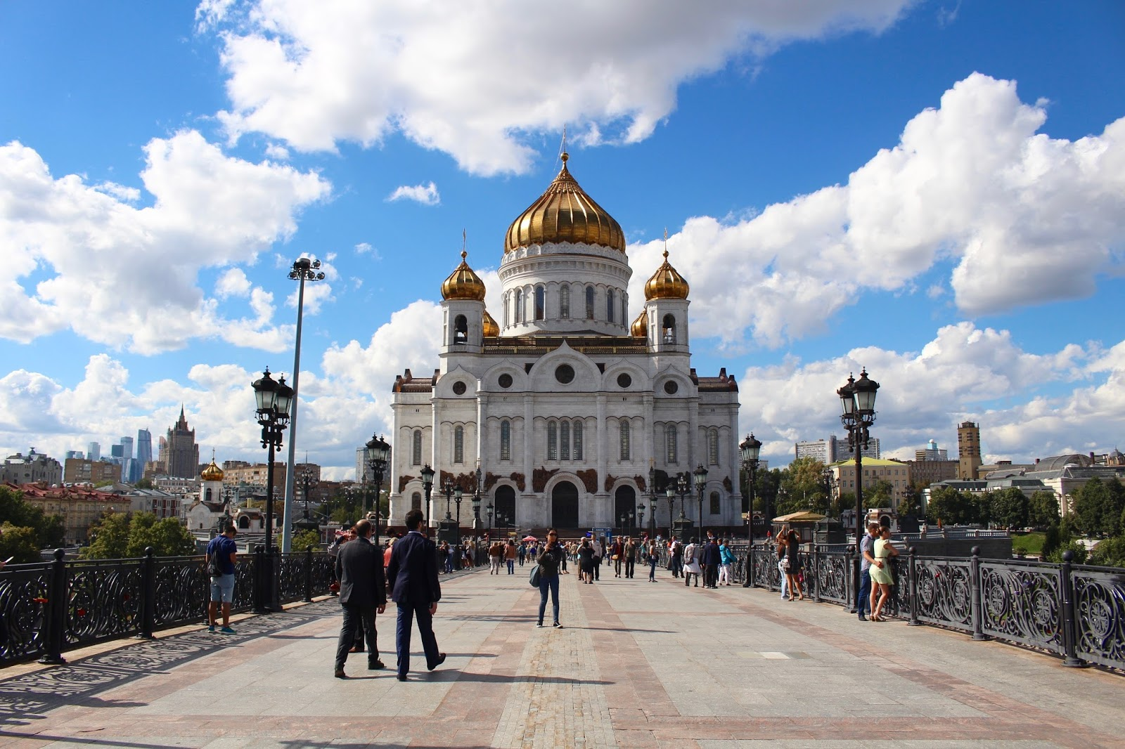 Cathedral of Christ the Saviour & Patriarshiy bridge