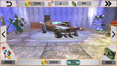 لعبة Mad Death Race مهكرة للأندرويد، لعبة Mad Death Race كاملة للأندرويد